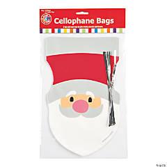 Santa Cellophane Bags