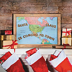Santa Claus is Coming to Town Picture Idea