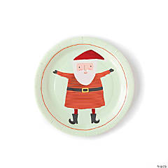 Santa Dinner Plates