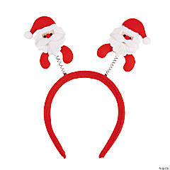 Santa Head Boppers