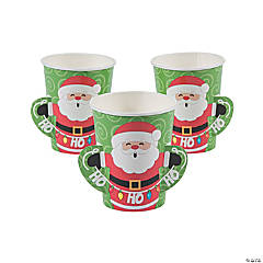 Santa Paper Cups
