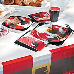 Santa Scenes Party Supplies