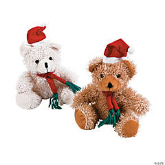 Santa Stuffed Bears