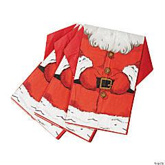 Santa Suit-Shaped Napkins