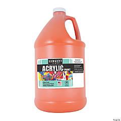Sargent Art® Acrylic Paint, Orange, 64 oz Bottle