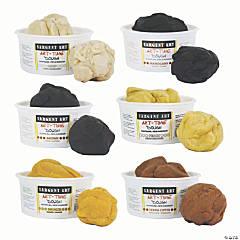 Sargent Art® Art-Time® Multicultural Dough, Assorted Colors, 6 lb