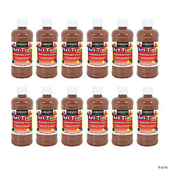 Sargent Art® Art-Time® Tempera Paint, Brown, Pack of 12