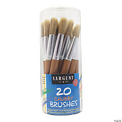 Sargent Art® Chubby Brush Canister, 20 Count