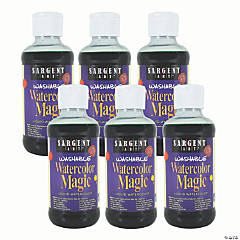 Sargent Art® Washable Watercolor Magic® Paint, 8 oz, Green, Pack of 6