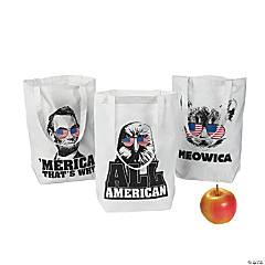 Sassy Patriotic Tote Bags