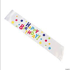 Satin Everyday Birthday Party Sash