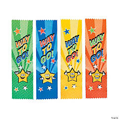 Satin Way To Go Ribbons
