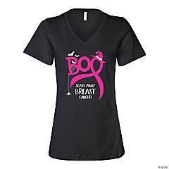 Scare Away Breast Cancer Women's T-Shirt - Medium