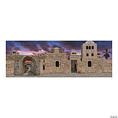Scene to Bethlehem Backdrop Banner