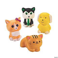 Scented Cat & Dog Slow-Rising Squishies
