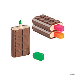 Scented Chocolate Bar Highlighters