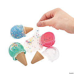 Scented Ice Cream Cone Slime