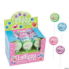 Scented Lollipop Putty Containers