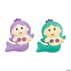 Scented Mermaid Slow-Rising Squishy