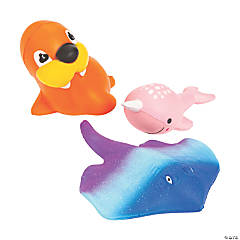 Scented Sea Life Slow-Rising Squishies