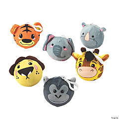 Scented Zoo Animal Squishy Keychain Assortment