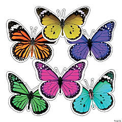Schoolgirl Style™ Giant Woodland Whimsy Butterfly Cutouts
