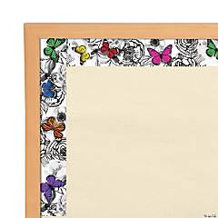 Schoolgirl Style™ Whimsy Butterflies Bulletin Board Borders