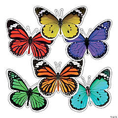 Schoolgirl Style™ Woodland Whimsy Butterfly Bulletin Board Cutouts
