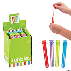 Science Party Mini Bubble Bottles