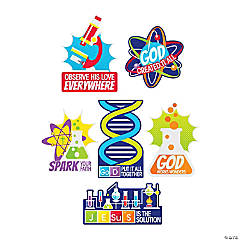 Science VBS Cutouts