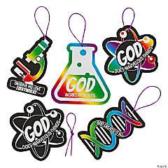Science VBS Magic Color Scratch Ornaments