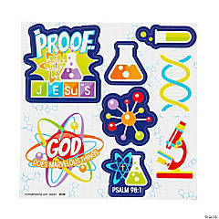 Science VBS Sticker Sheets