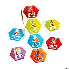 Science VBS Stickers