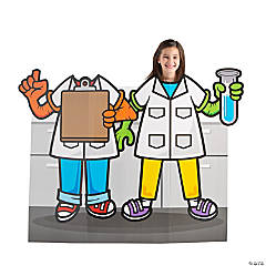 Scientist VBS Photo Cardboard Stand-Up