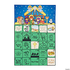 Scratch 'N Reveal Advent Calendars