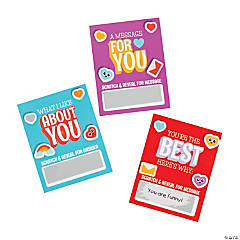 Scratch 'N Reveal Valentine's Day Cards