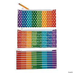 Scribbles, Dots & Stripes Pencil Cases