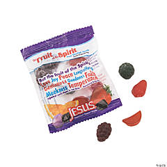 Scripture Candy™ Fruit of the Spirit Gummy Fruit Snacks