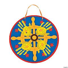 Sea Captain's Wheel Handprint Craft Kit