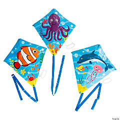Sea Life Kites with Tail