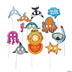 Sea Life Photo Stick Props