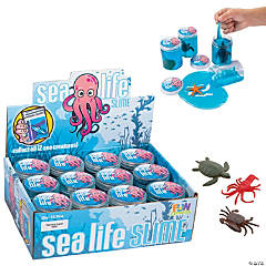 Sea Life Slime Containers with Characters