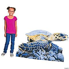Sea Turtle Cardboard Stand-Up