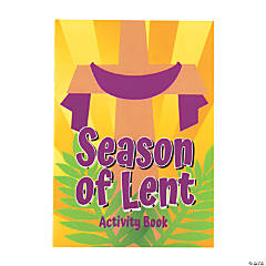 Season of Lent Activity Books