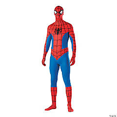 Second Skin Spider-Man™ Halloween Costume for Men - Extra Large
