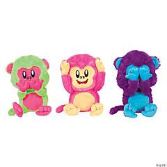 See, Hear, Speak No Evil Stuffed Monkeys