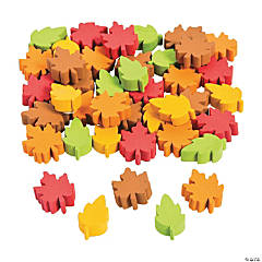 Self-Adhesive Fall Leaves