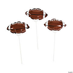 Self-Inflating Football Mylar Balloons