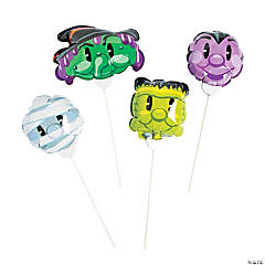 Self-Inflating Spooky Character Mylar Balloons Halloween Decorations
