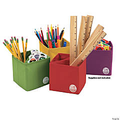 Sensational Classroom™ Essential Collapsible Storage Boxes, Set of 4